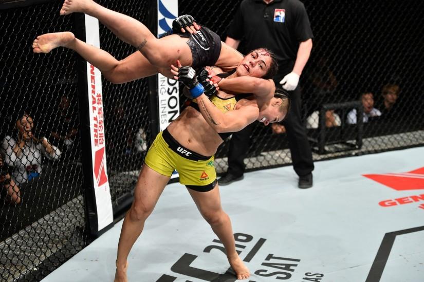 Джессика Андраде смешанных боевых искусствах