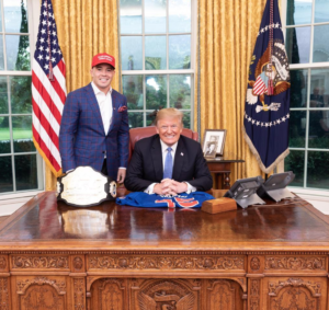 с президентом