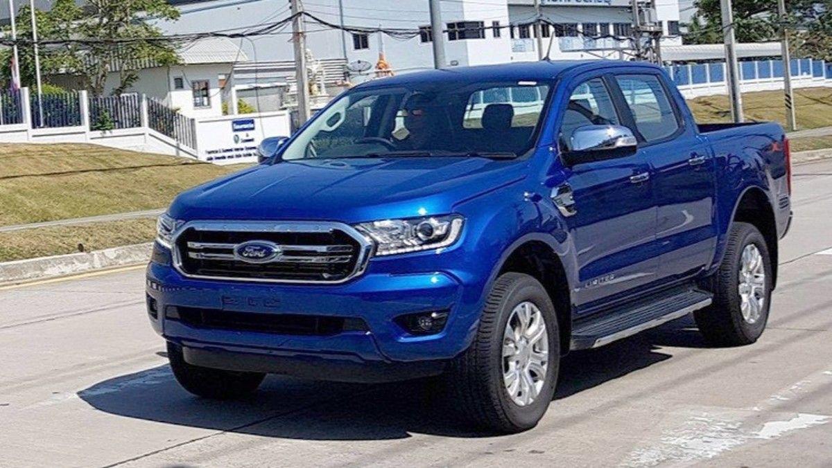 2019 ford ranger синий