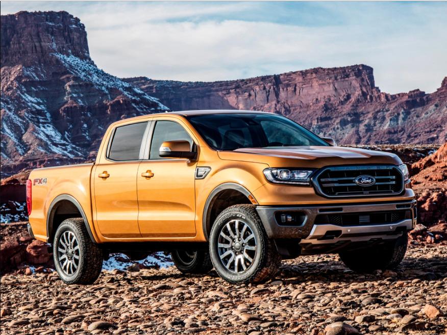 2019 ford ranger us