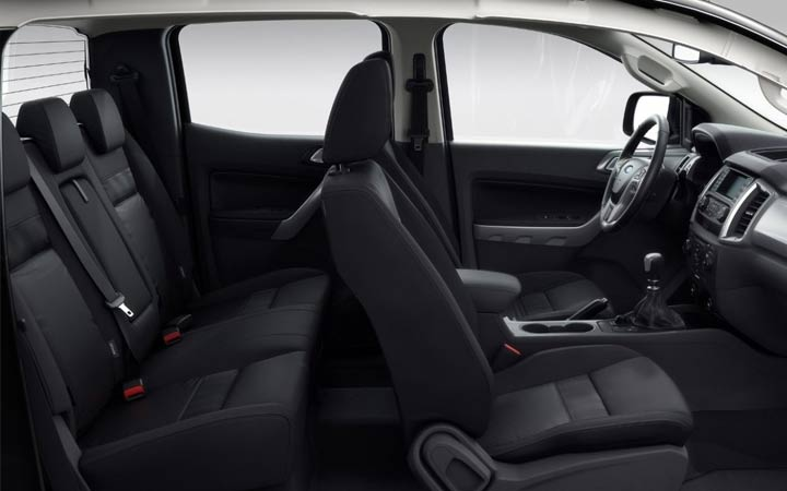 ford ranger 2019 interior