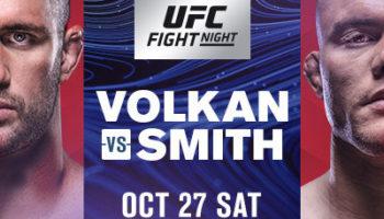 Энтони Смит vs Волкан Оздемир — прогноз на бой