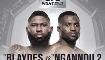 UFC Fight Night 141 в Пекине: участники, результаты, полное видео боев