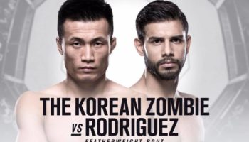 UFC Fight Night 139: Korean Zombie vs. Rodriguez