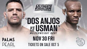 UFC The Ultimate Fighter 28 Finale — результаты и видео боев