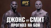 Предварительный прогноз боя Джон Джонс vs Энтони Смит на UFC 235