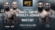Карды турнира UFC 235, второе марта, Лас-Вегас