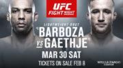 Файт-кард турнира UFC on ESPN 2