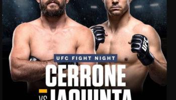 UFC Fight Night 151 — кард турнира и прямая трансляция